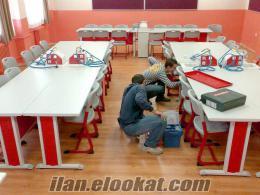 Arnavutköyde okul laboratuvarları
