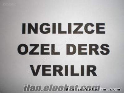 İNGİLİZCE ÖZEL DERS(GAZİANTEP)