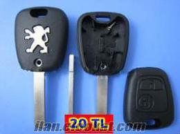 peugeot anahtar 206 207 306 307 406 407 partner boş kumanda kasası