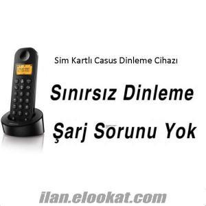 Sim Kartlı Telsiz Telefon Dinleme Cihazı SINIRSIZ DİNLEME