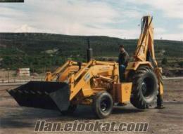 satılık 2 ci el yada sıfır traktör kepçe ve kanal kazıcılar