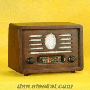 TOPTAN Nostaljik Radyo, Ahşap Ceviz Radyo