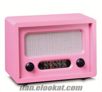 TOPTAN Ahşap Nostaljik Ceviz Radyo--6 RENK SEÇENEKLİDİR