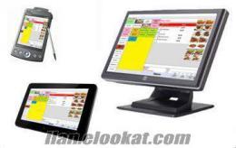 (Basit ve Hızlı) Restoran Otomasyon Sistemi -dokunarak kullanım