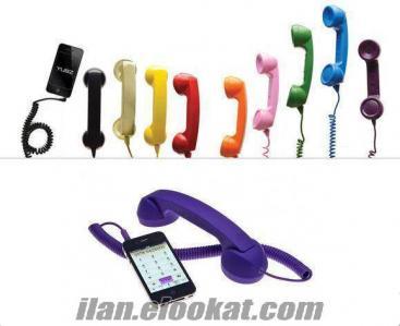 TOPTAN Mobil Retro Ahize Kulaklık (8 Renk Seçenekli)