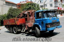 satılık vinçli kamyon
