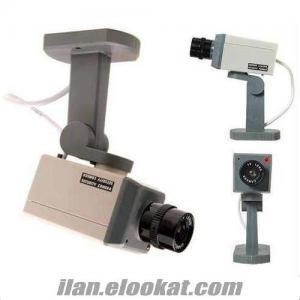 TOPTAN Hareket Sensörlü Sahte Güvenlik Kamerası