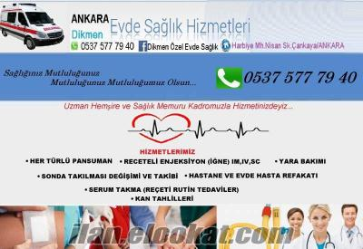 Ankara Özel hemşire