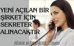 BEYAZ EŞYA SERVİSİNE SEKRETER ARANIYOR