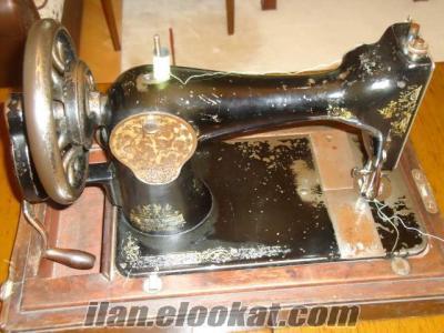 sahibinden singer kollu dikiş makinası.