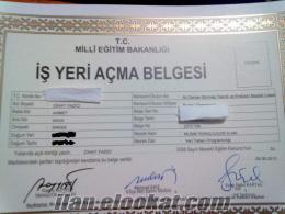 İŞ YERİ AÇMA BELGESİ KİRALANIR.!