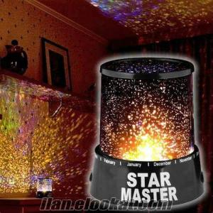 TOPTAN Yıldız Projeksiyonlu Gece Lambası Star Master