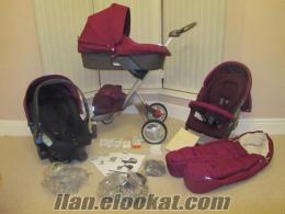 Komple aksesuarları ile YENİ Stokke Xplory v4 bebek arabası