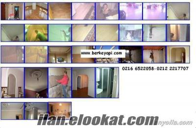 Komple Daire Tadilat Mutfak Banyo Yenileme Mutfak Dolabı, Pvc Pencere Demir Fer