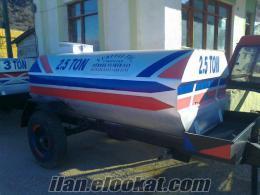 YURTTAŞ TİCARET ten 2.5 -3 tonluk tankerler