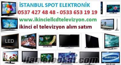 Pendik ikinci el televizyon alan yerler lcd led tv smart tv plazma televizyon