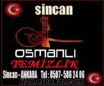Ankara Sincan osmanlı temizlik