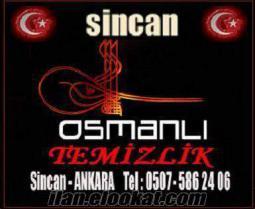 Ankara Sincanda temizlik şirketi