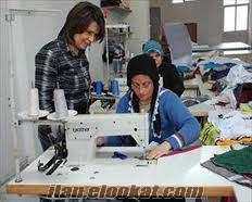 Kocaeli Çınarlıda tekstil atölyesi