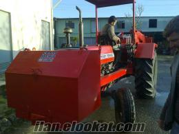 Tomruk yükleyici ters traktör kepçe imalatı CANLI