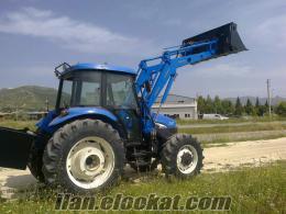 Traktör kepçe newholland TD95D CANLI
