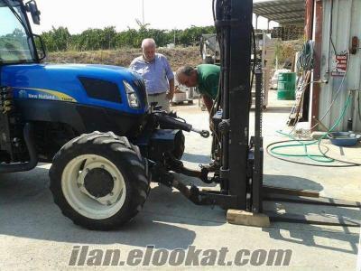 traktör ön yükleyici kepçe imalatı CANLI