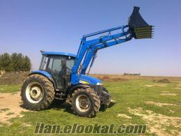Newholland TD 95 traktör kepçe - Canlı