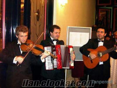 trio karşılama müzik grubu istanbul trio ekibi lansman kokteyl açılış fuar