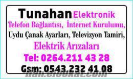 TUNAHAN İNTERNET ARIZA SERVİSİ SAKARYA SERDİVAN ADAPAZARI KAMPÜS