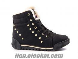 Twingo Zenne Bayan Siyah Ayakkabı