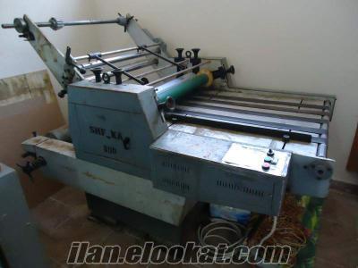 satılık selefon kaplama makinası