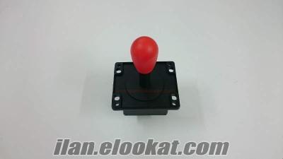 Jetonlu atari makinaları için joystick ve atari kolu