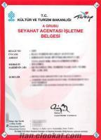 istanbulda satılık a grubu seyahat acentası :45 bin tl.