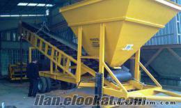 satılık mekanik plent, beton santrali, mıcır yıkama