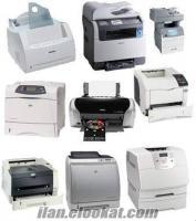 hp yazıcı, faks, fotokopi, yazıcı tamir istoç-ikitelli bölgesi