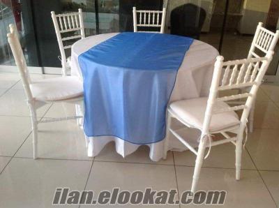 Uygun fiyatlı çok temiz Tiffany sandalye masa fiyat sorunuz