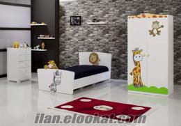 De mobilya zebra çocuk odası