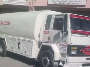 arazoz satılık, kiralık su tankeri