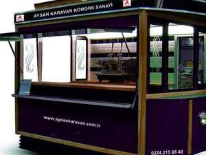 Mobil satış büfeleri Tramvay büfe Satış karavanı İmalatı