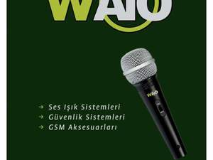 waio kablolu mikrofon anahtarlı-wc 606