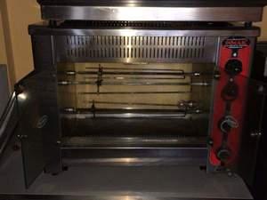 Set Üstü 4 Aylık Doğalgazlı Piliç Çevirme Makinası