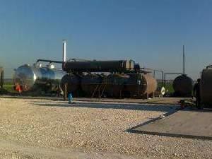 atık madeni Yağ geri dönüşüm makinası imalatı kalkanlar makina sanayi
