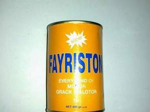 FAYRISTON MOTOR - RADYATÖR ÇATLAK İLACI