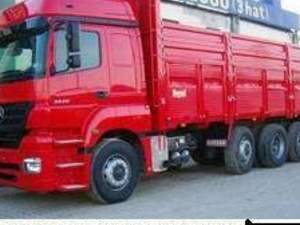 hurda hasarlı kamyon çekici