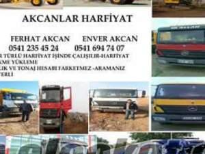Samsun Ahubabaçaltı kiralık kamyon