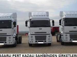 ağır hasarlı yeni kamyon alınır