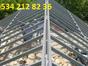 sandviç panel çatı ustası izmir, çatı yapım ustası izmir emre usta, sandviç çatı