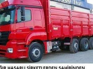 ağır hasarlı kamyon kamyonet çekicileriniz alınır