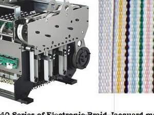 Dar Etiket Örme Makinası Jakarı