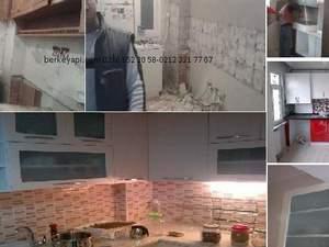 istanbul Ev tadilat mutfak banyo yenileme fiyatları